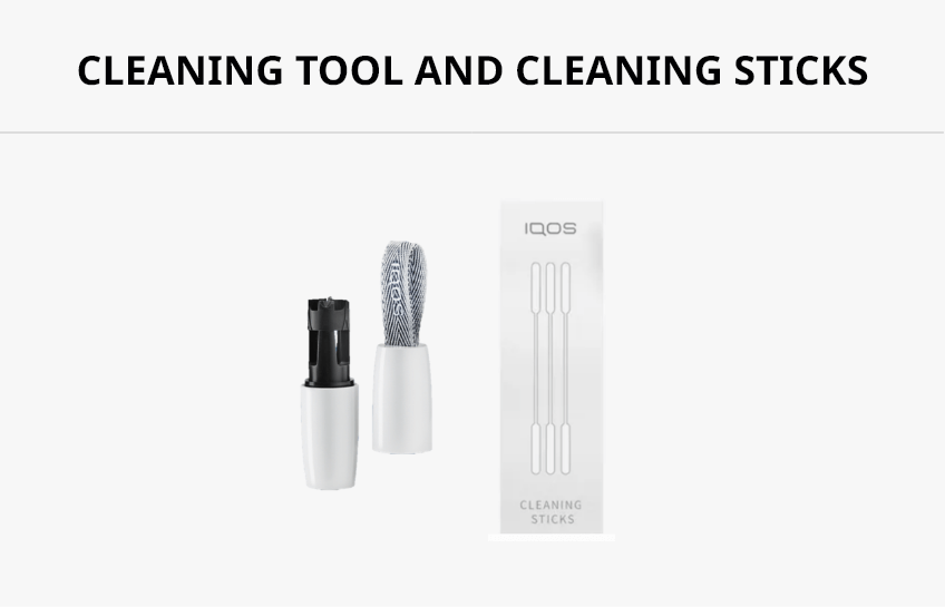 iqos 3 duo guide cleaning tool and cleaning sticks